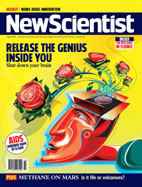 New Scientist cover, April 2004
